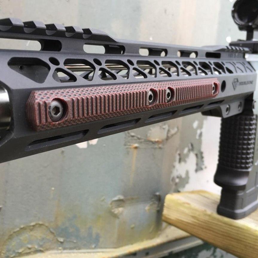 doublestar corp stronhold G10 Mlok panels ar15 heat sheild grip  1.jpg