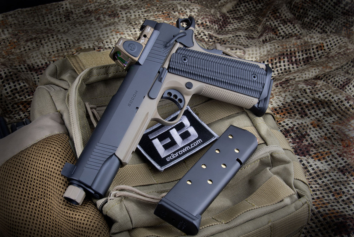 ED BROWN PRODUCTS DEBUTS NEW SPECIAL FORCES INSPIRED SOCOM EDITION 1911 PISTOL!