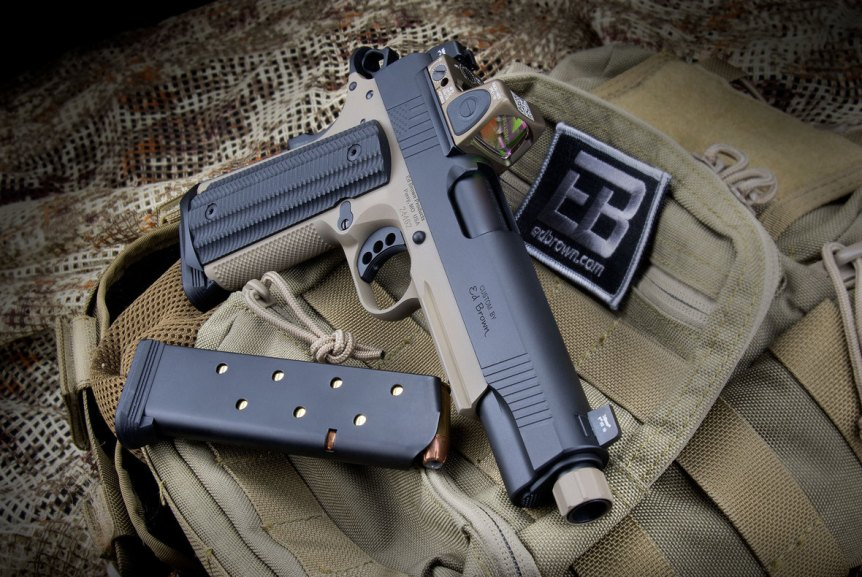 ed brown special forces inspired socom edition 1911 pistol suppresor height sights 1911 with rmr threaded barrel 45acp 2.jpg