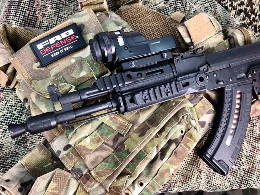 FAB DEFENSE SHOWS OFF NEW VANGUARD AK/AKM HANDGUARDS