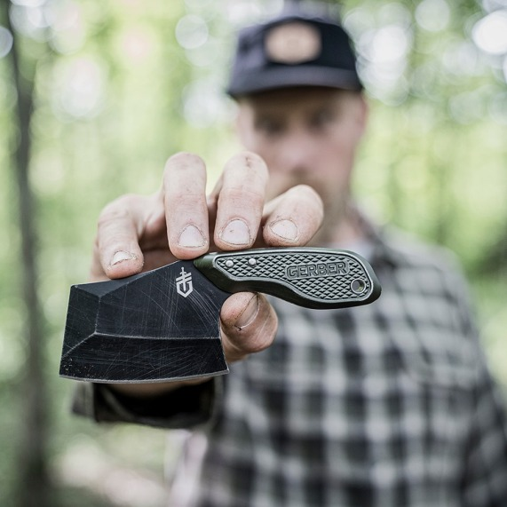 gerber gear tri tip mini cleaver for edc mini cleaver