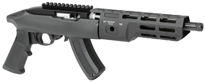 midwest industries ruger 1022 takedown mlok handguards for backpack gun 22lr mlok 7