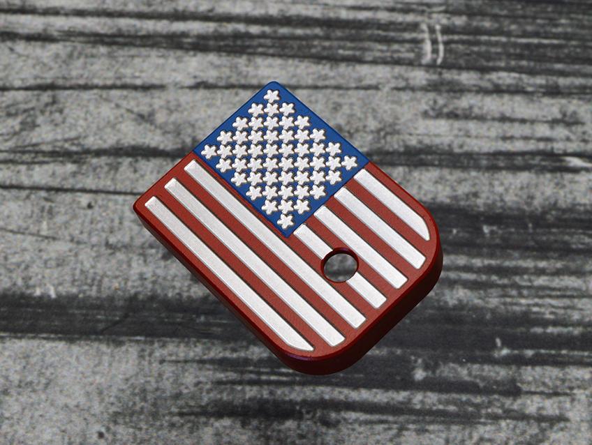 milspin american flag glock basepads stainless steel basepads for glock gucci gun  1.jpg