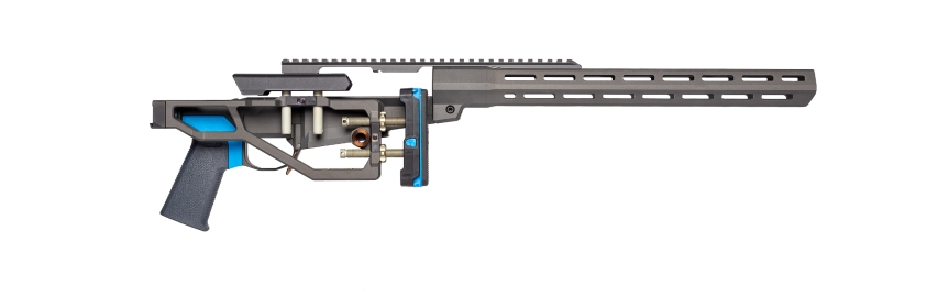 Q llc side chick rifle chassis remington 700 lightest chassis sniper rig 2