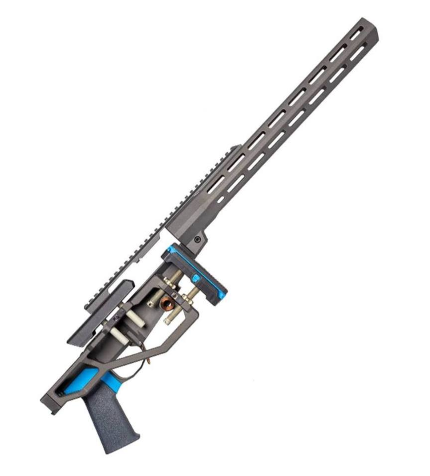 Q llc side chick rifle chassis remington 700 lightest chassis sniper rig a