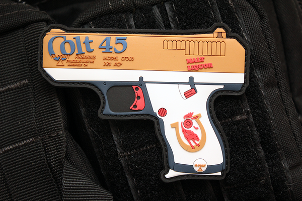 STICKTHISON DEBUTS NEW COLT 45 HI-POINT MORALE PATCH!
