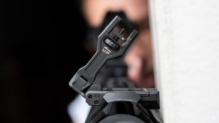strike industries sidewinder II angled 45 degree buis back up sights for my scope 1.jpg