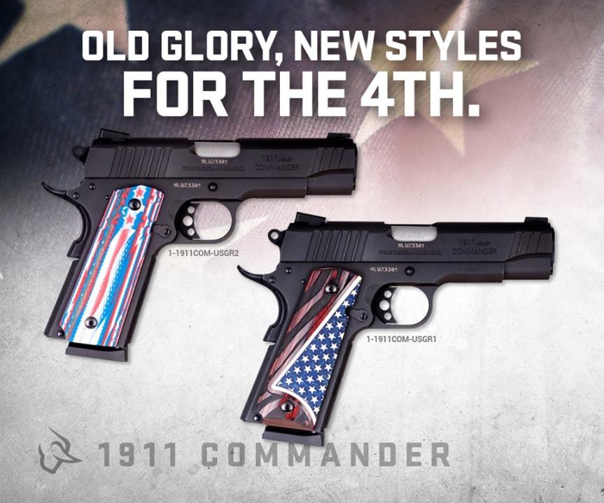 taurus usa 1911 commander flag grips american flag 1911 grip panels  1.jpg