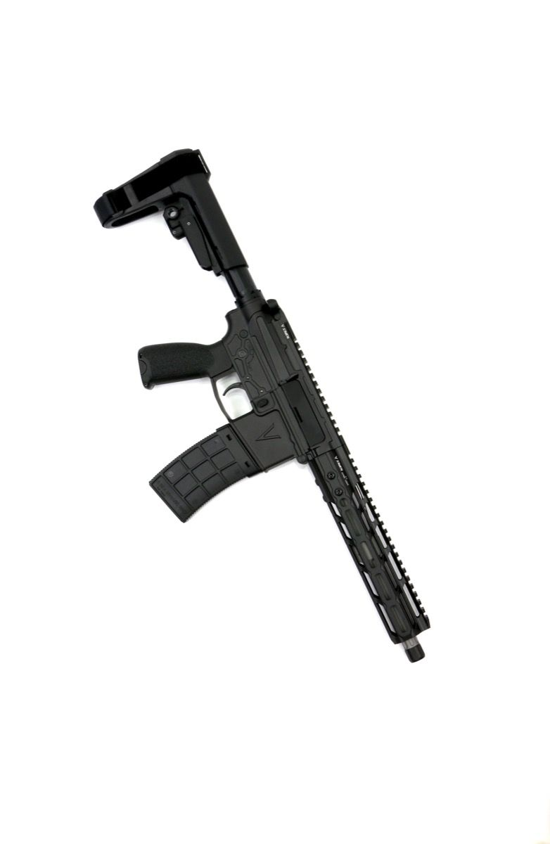 v seven weapon systems 10.25 lr enlightended 300 blackout pistol ar15 chambered in 300 blackout for hunting 2