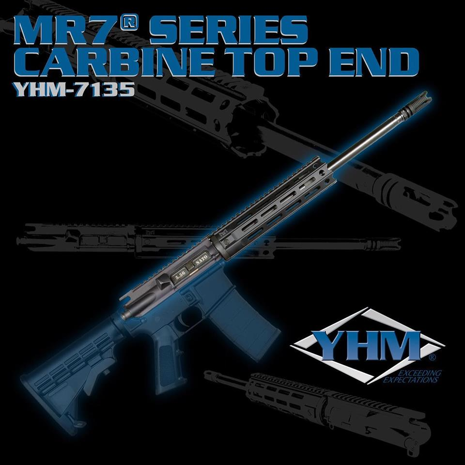 YANKEE HILL GOES LIVE WITH NEW MR7 SERIES AR-15 UPPER RECEIVERS!!!