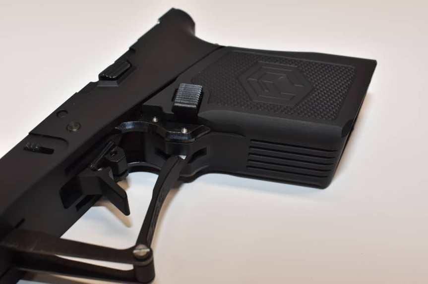 full conceal m3dal frame folding glock in your pocket problem solva billet aluminum glock frame aa