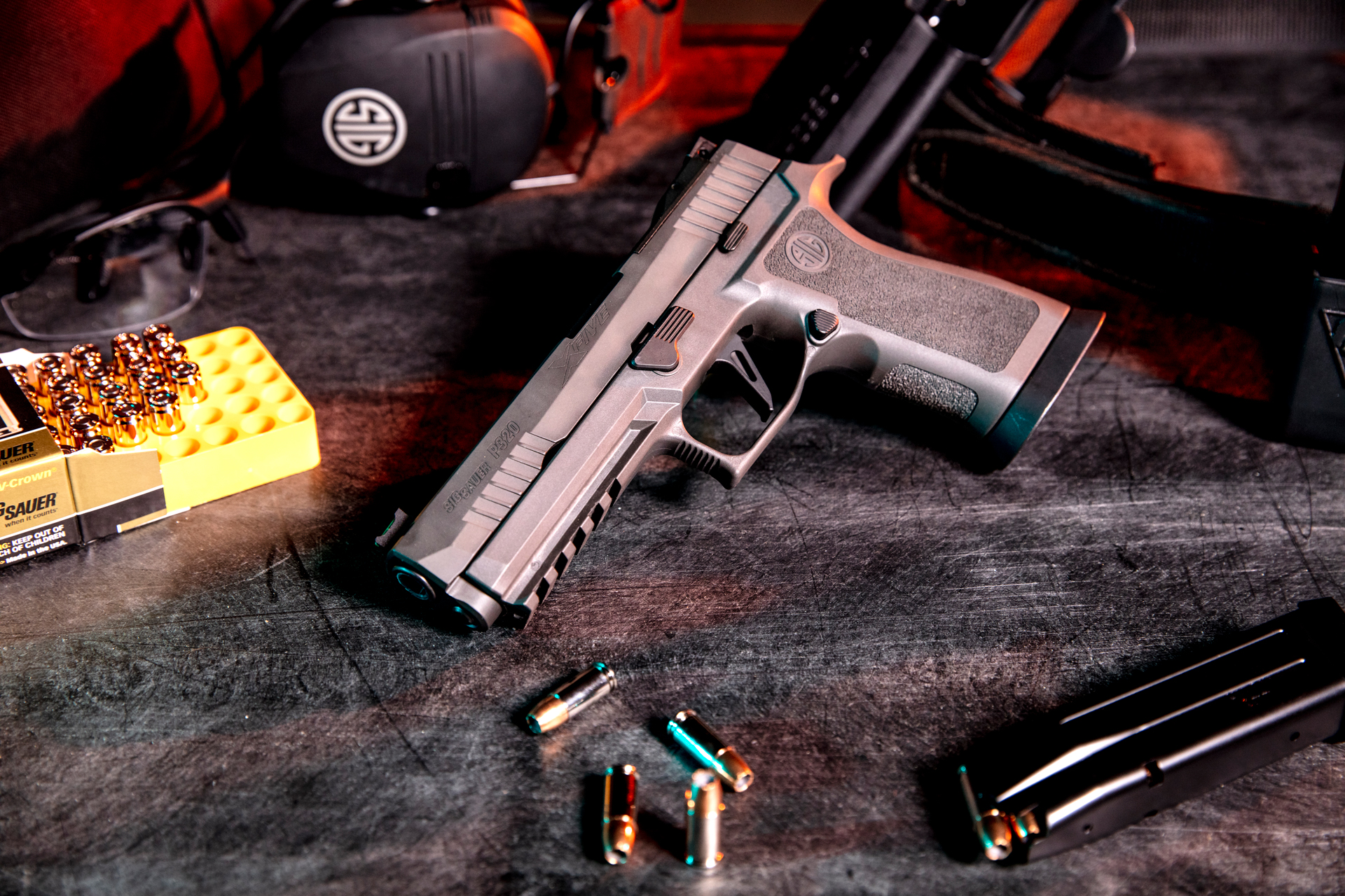SIG SAUER DEBUTS THE P320 XFIVE LEGION!: A NEW FLAGSHIP FOR THE P320 PLATFORM!!