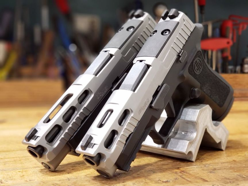 sig sauer sig p320 pro-cut slide assembly p320 rmr cut for 320 optic acro on the p320  a.jpg