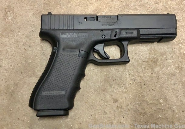 HAVE YOU EVER SEEN A 9X21MM FACTORY CHAMBERED GLOCK 17? TEXAS MACHINE GUN & ORDNANCE HAS IMPORTED ONE!!