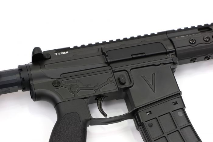 V SEVEN WEAPON SYSTEMS ADDS NEW LR ENLIGHTENED 5 56 AR