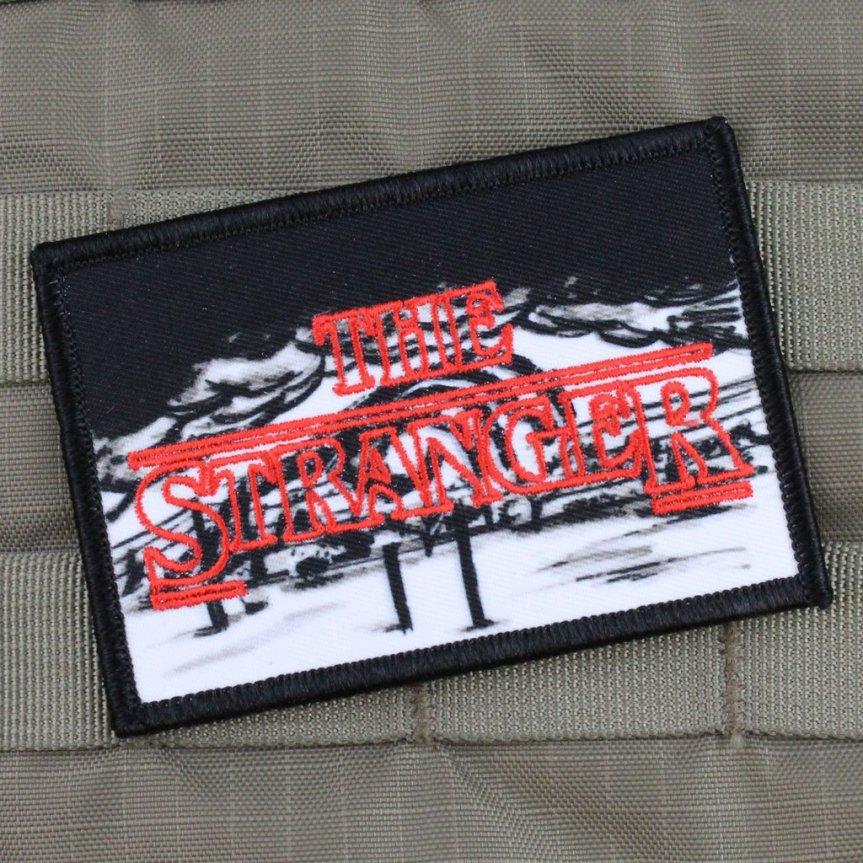 violent little machine shohp the stranger morale patch for your range bag molly strap morale patch hand job numb hands  1.jpg