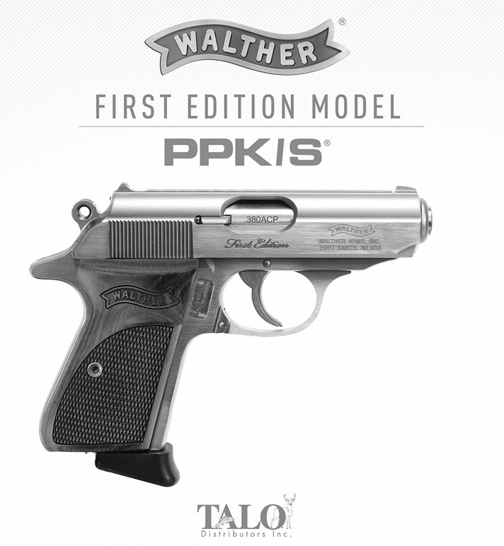 WALTHER ANNOUNCES LIMITED EDITION-FIRST EDITION MODEL PPK/S