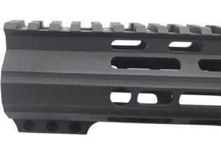 core rifle systems 15 inch handguard tuck under ar15 muzzle brake ar-15 handguard black rifle 4