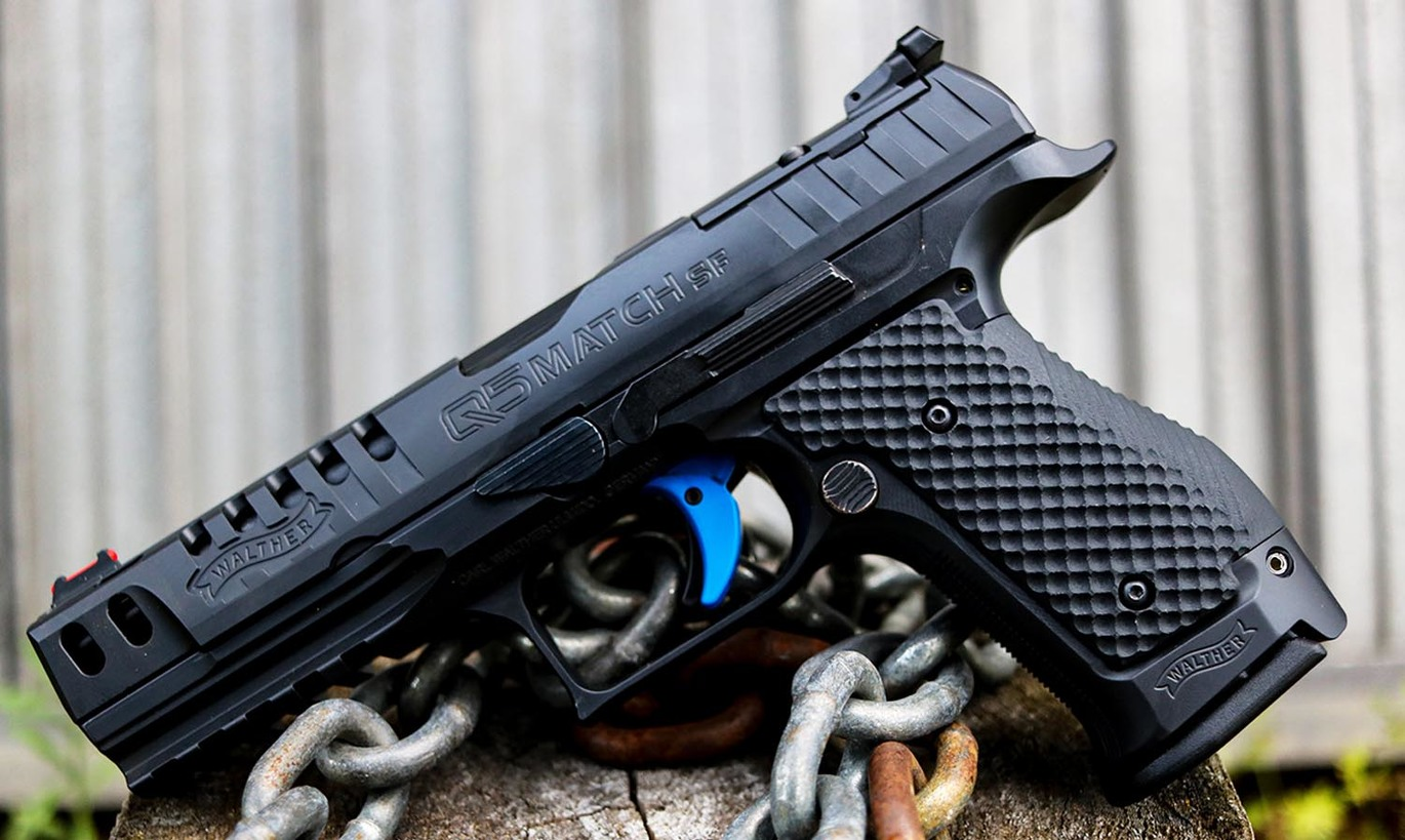 LOK GRIPS SHOWS SUPPORT FOR WALTHER WITH NEW WALTHER Q5 MATCH SF BOGIES G10 GRIPS!