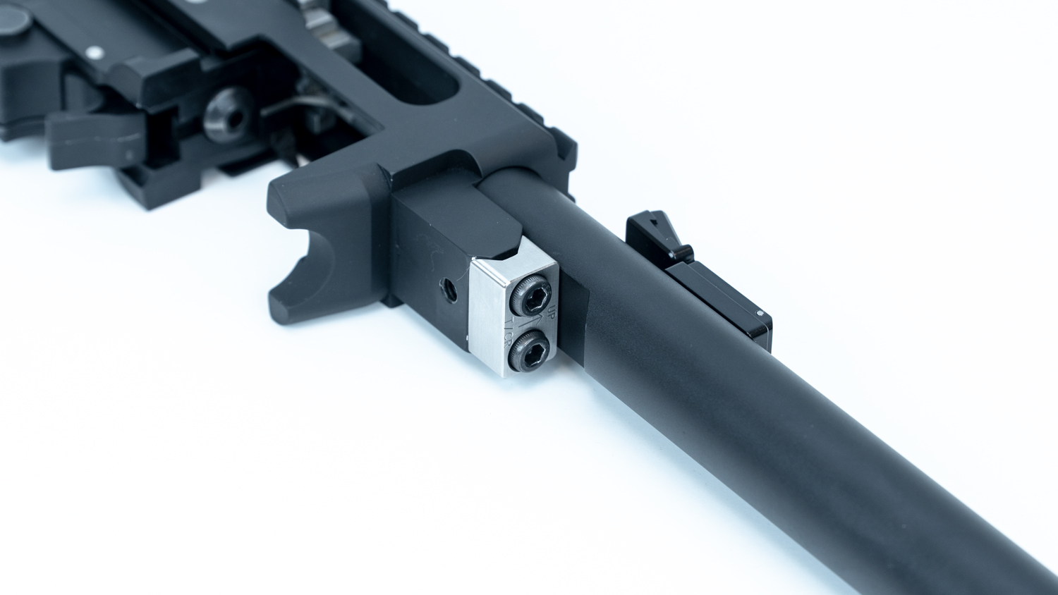 TACTICAL SOLUTIONS DEBUTS X-RING BARREL UPGRADE V-BLOCK FOR THE T/CR22!!