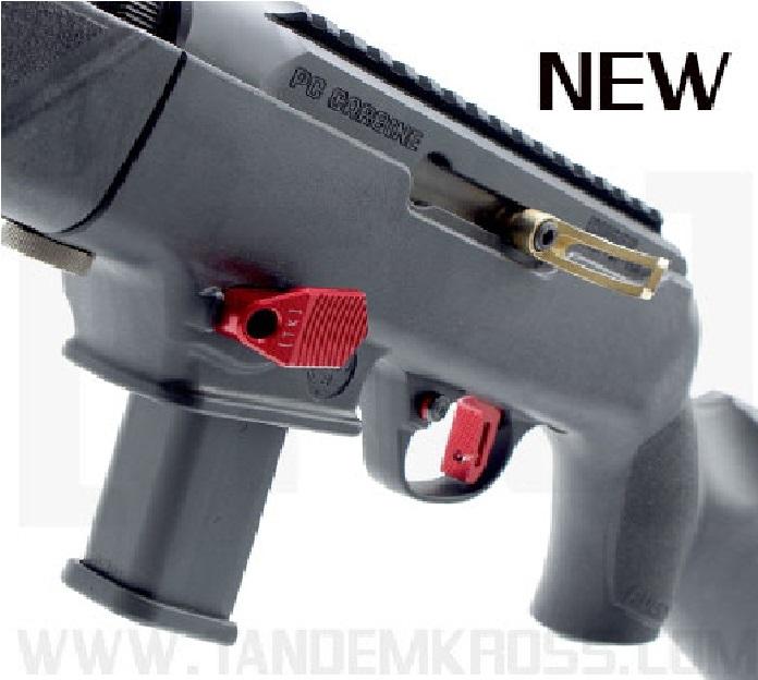 TANDEMKROSS RELEASES THE TITAN EXTENDED MAG RELEASE FOR RUGER PC CARBINES!