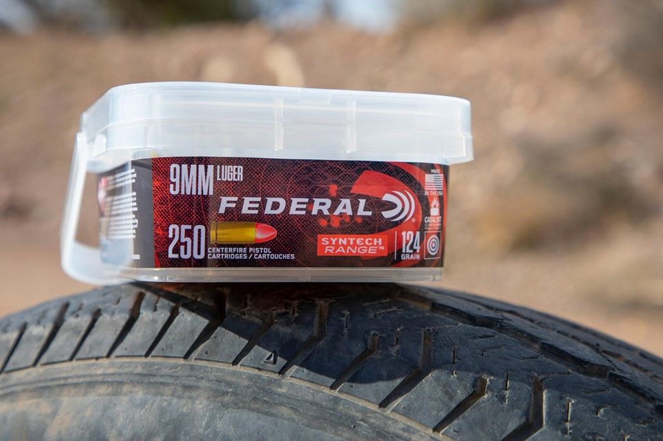 FEDERAL PREMIUM ANNOUNCES NEW SYNTECH RANGE 9MM LUGER BULK BUCKETS!!!