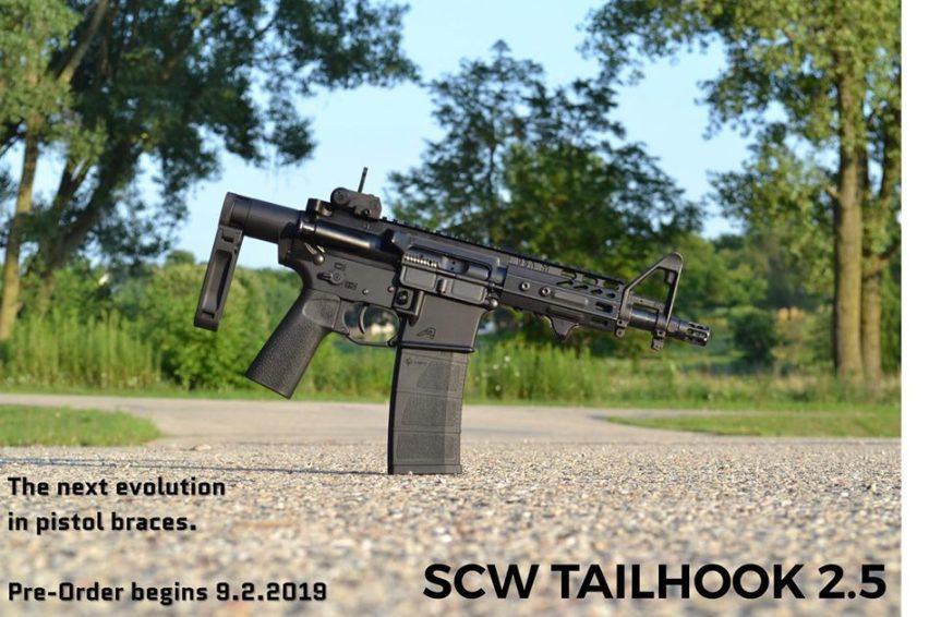 gear head works dead foot arms scw 2.5 tailhook pistol bracke scw 4 tailhook Modified Cycle System 2.jpg